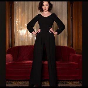 Elizabeth Taylor Vintage Inspired Jumpsuit Sz S